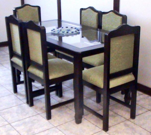 Muebles lopez muebles y juegos de comedor en costa rica for Comedor vidrio 6 sillas