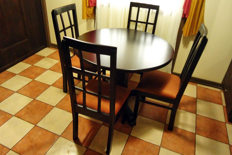 Muebles lopez muebles y juegos de comedor en costa rica for Comedor redondo 4 sillas