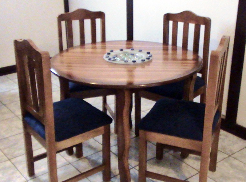 Related pictures hogar muebles comedor comedores sillas for Comedor redondo vintage