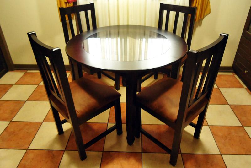 Comedor redondo 5 sillas